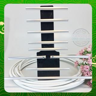 ăng ten tivi thông minh thu sóng DVB T2 kèm dây 15m