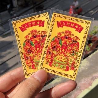 Kim Bài Ngũ Lộ Thần Tài Thần Tài khai vận mở cung Tài Lộc thumbnail