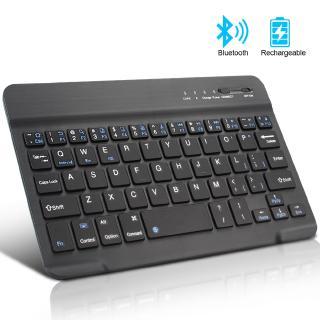 Bàn phím không dây Bluetooth mini dùng được cho IOS Android Windows