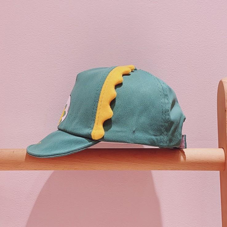 Mũ nón lưỡi trai trẻ em hình khủng long cho bé trai bé gái 6th - 2 tuổi (MUTE03)