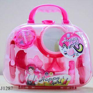 Hộp vali trang điểm happy girl BJ1287