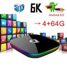 IPTV Q Plus Android 9.0 Smart TV Box 4GB Ram 32GB