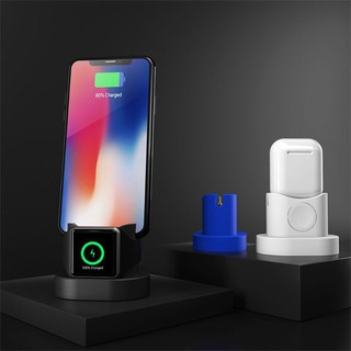Dock sạc chống trầy cho Apple Watch Airpods iPhone