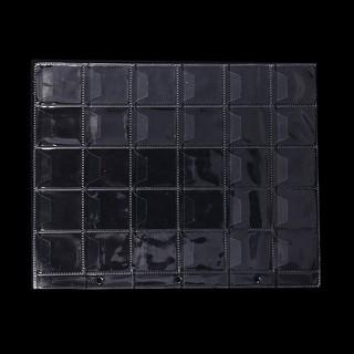 10 Pages 30 Pockets Plastic Holders Storage Collection Money Album Case,