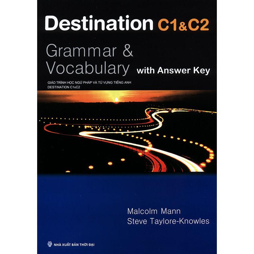 Sách - Destination C1 & C2 : Grammar & Vocabulary