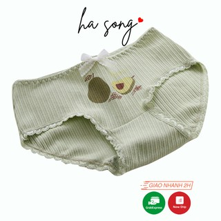 Quần lót nữ quả bơ dễ thương thoáng mát QL60 - Ha Song Shop thumbnail