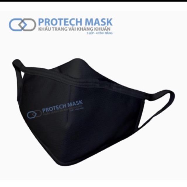 [Mã FAGRE88 hoàn 15% đơn 50K] Kt protech mask kháng khuẩn 3 lop cao cấp { hàng chính hãng}