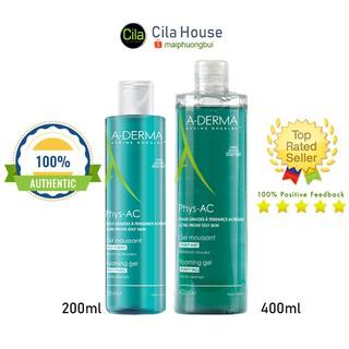 [Mã COS1212 giảm 8% đơn 250K] Sữa rửa mặt Aderma Phys-AC Gel dành cho da dầu, mụn, nhạy cảm - Cila House thumbnail