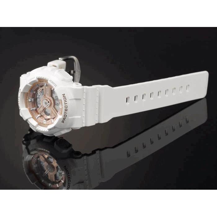 Đồng hồ Nữ dây nhựa Casio Baby-G BA-110-7A1 chính hãng bảo hành 5 năm Pin trọn đời