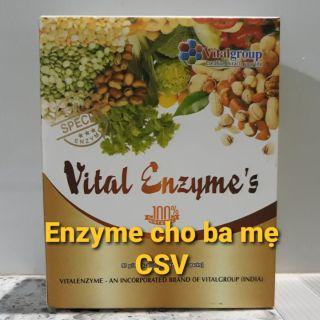 Vital Enzyme chính hãng cho ba mẹ Cửa Sổ Vàng – Hàng Công ty (30 gói/hộp)
