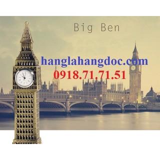 Mô hình tháp chuông Big Ben có đồng hồ cao 23cm