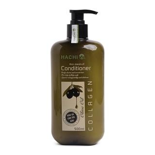 Dầu xả trị gàu Hachi Olive Oil 500ml thumbnail