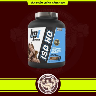 ISO HD 100% PURE ISOLATE PROTEIN – SỮA WHEY HỖ TRỢ TĂNG CƠ BẮP BPI