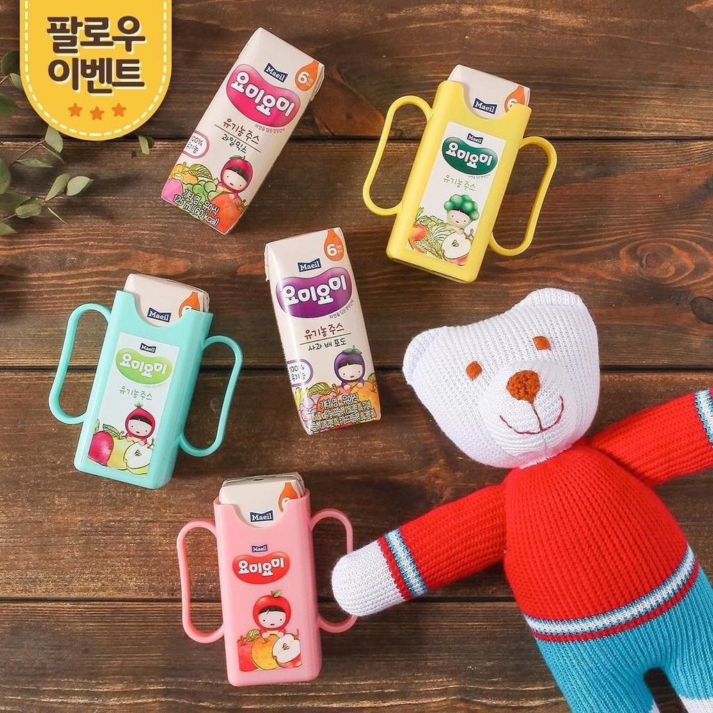 Combo 2 lốc nước ép trái cây hữu cơ Maeil Hàn Quốc dành cho bé từ 6M (nhiều vị lựa chọn)