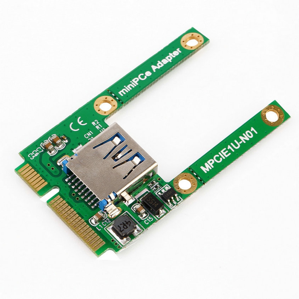 PCI-e To USB 2.0 Add On Professional Stable For Computer Mini Riser Expansion Card
