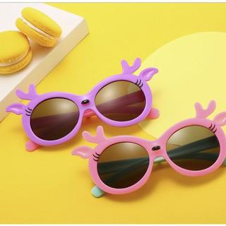 Kính thời trang hoạt hình cho bé, kính tránh tia UV,chống nắng cho bé trai bé gái UNISEX
