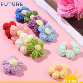 Future Set 5 dây ruy băng ren tua rua thêu hoa ba chiều bằng Polyester DIY thumbnail