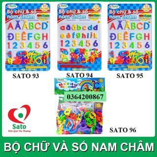 BỘ CHỮ VÀ SỐ NAM CHÂM (Sato93-94-95-96)