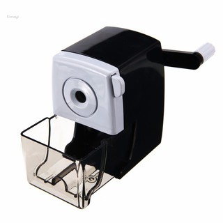 Simayi✨Pencil Sharpener Steel Hand-Crank Mechanical School Stationery Tool Office Child