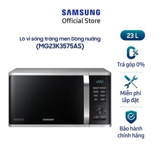 Lò vi sóng có nướng Samsung MG23K3575AS SV 23 lít thumbnail