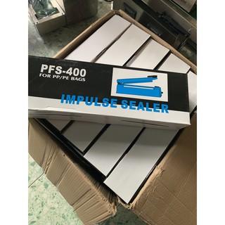máy hàn miệng túi dập tay PFS 300 máy dập miệng túi 300 lấy nguyên thùng 270.000/máy