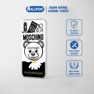 Ốp điện thoại – ốp lưng hàng hiệu MOSCHINO hoa cúc cho các dòng iphone từ iphone 5/5s tới 12/12 PRO MAX_JC20200800028