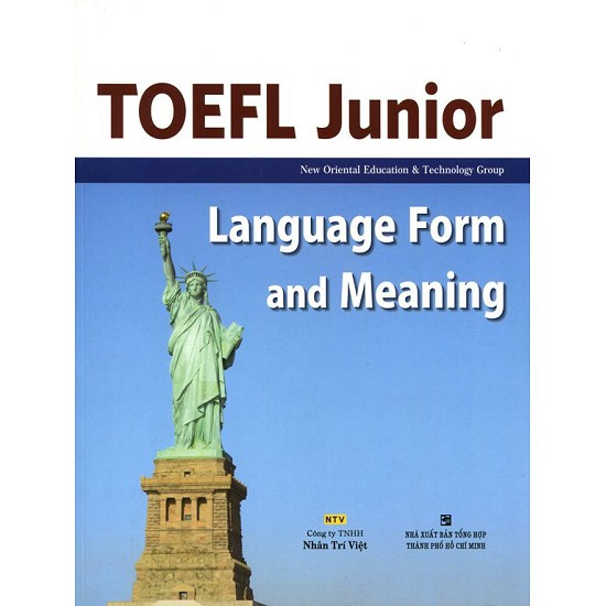 Sách - TOEFL Junior Listening Language Form And Meaning (Không CD) - 9786045831007