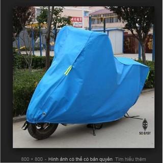 Bạt phủ xe máy THÀNH LONG SIÊU BỀN, che mưa, chống nắng bảo vệ xe máy, màu đẹp