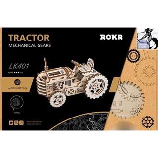 Mô hình Cơ động học – Xe kéo (Tractor Robotime)