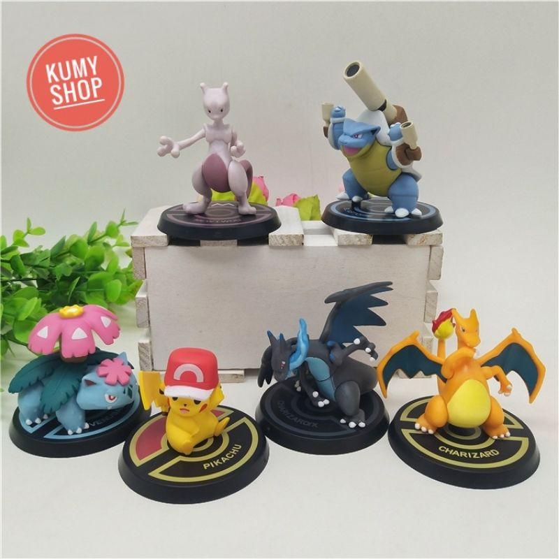 Bộ mô hình Pokémon mega siêu ngầu ❤️