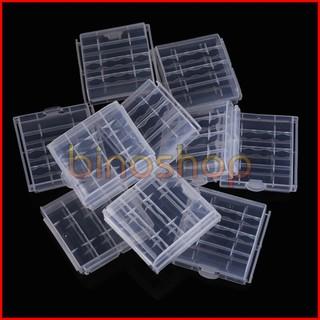 Hộp nhựa đựng pin, dùng chứa pin AA, AAA
