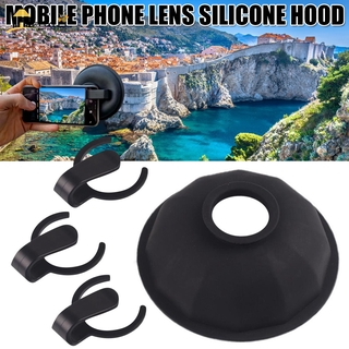 FBYUJ- Lens Hood Lens Anti Reflection Lens Hood Mobile Phone Lens Attachment Durable