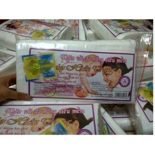 """Khăn vải khô đa năng baby Hiền Tran 300g gói 250 tờ giá chỉ còn <strong class=""""price"""">900.000.000đ</strong>"""