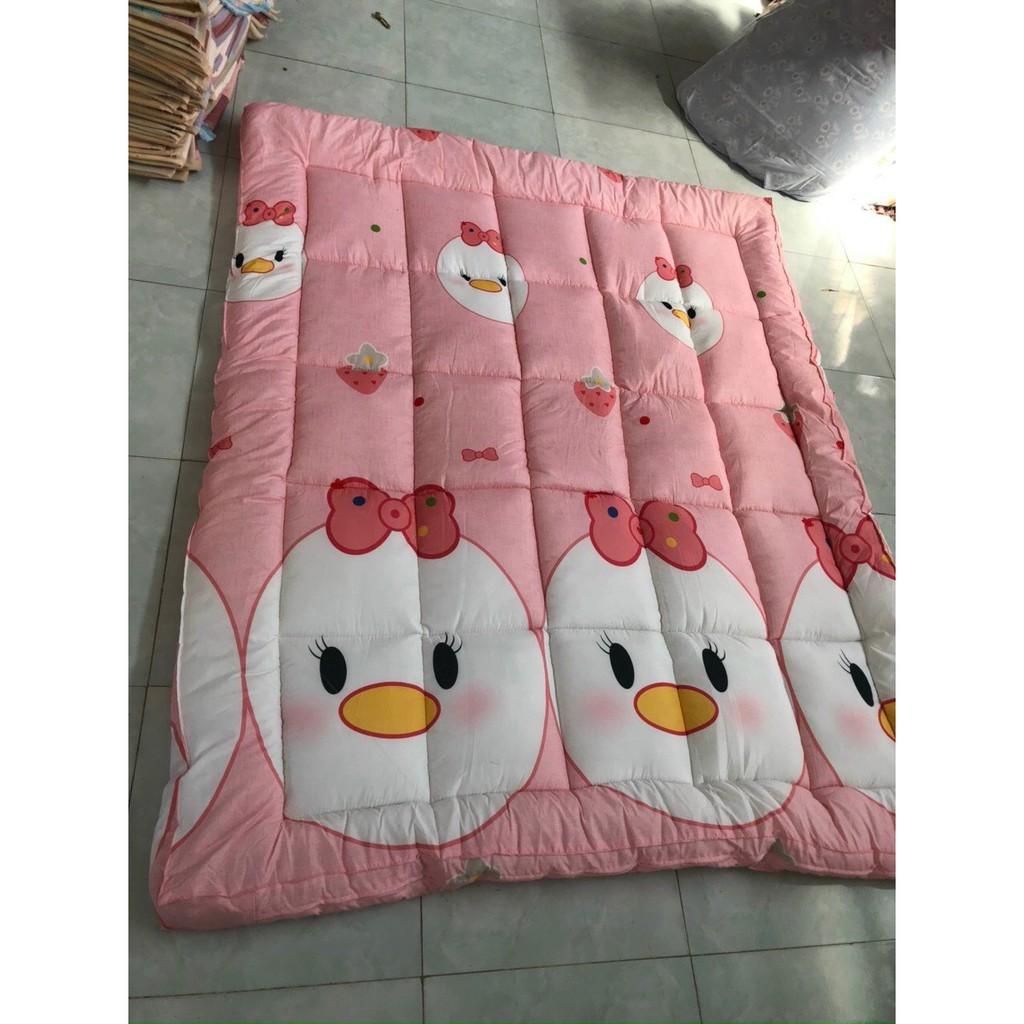 ( Tặng 1 khăn lau đa năng) Nệm Topper Tấm làm mềm đệm cotton Hàn quốc mới nhất 2020