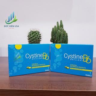( Hàng Pháp ) Cystine B6 hỗ trợ rụng tóc và loạn dưỡng móng Hộp 1 vỉ /20 viên
