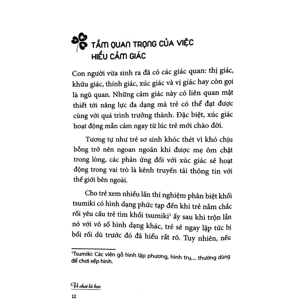 Sách - Vì chơi là học ( Giai đoạn 1-2 tuổi)