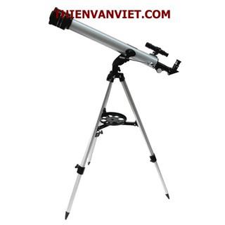 Kính thiên văn khúc xạ D60F700 kèm chân đế và phụ kiện loại tốt