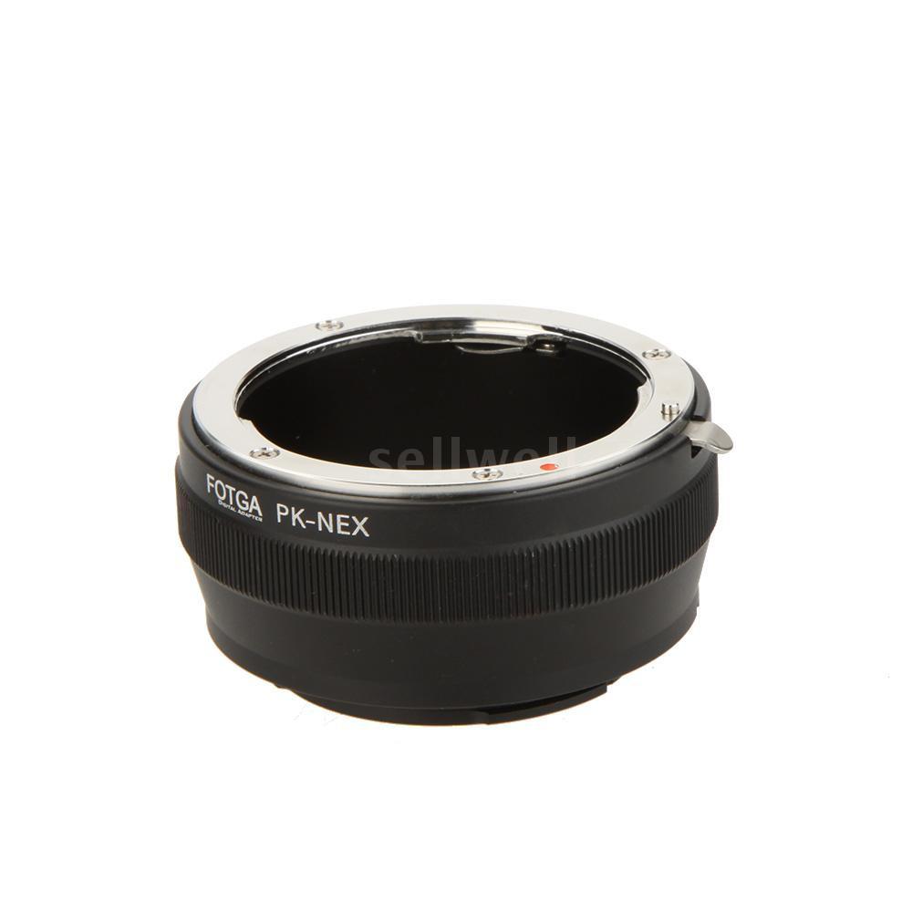 Fotga PK-NEX Adapter Digital Ring for Pentax PK K Mount Lens to Sony NEX E-Mount Camera (for Sony NEX-3 NEX-3C NEX-3N NE