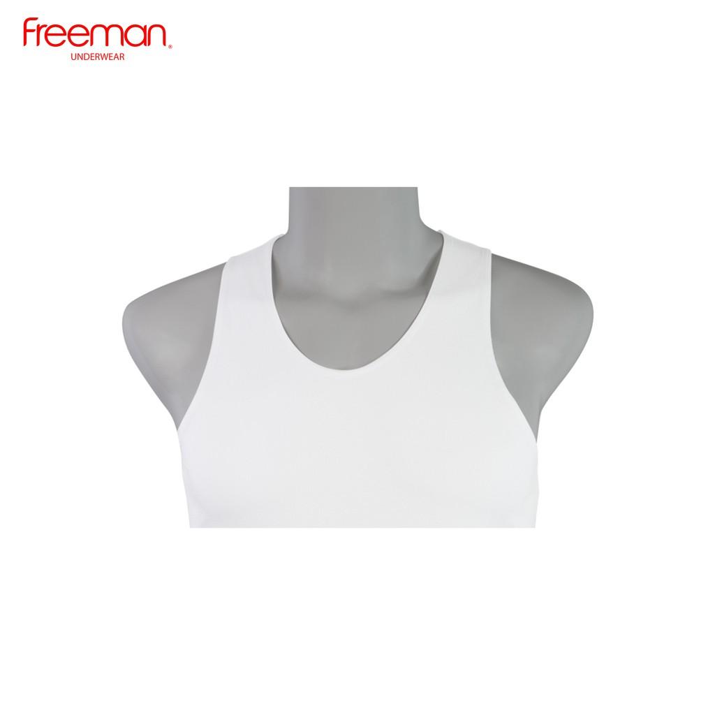 Áo thun ba lỗ nam Freeman - Viền áo mỏng - Chất liệu cotton ASF207