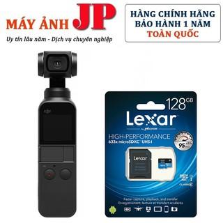 Máy Quay DJI OSMO Pocket + Thẻ nhớ Lexar 128Gb 4K - Hàng Chính hãng thumbnail