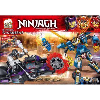 Lego ninja GH 82007 Người máy của Jay đại chiến xe máy cắt