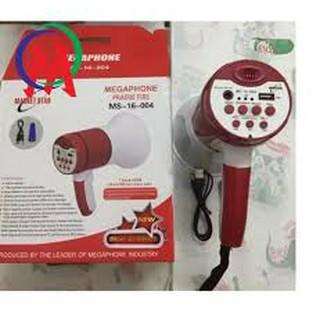 [Mã ELFLASH5 giảm 20K đơn 50K] Loa phóng thanh có USB / Ghi âm / Sạc điện MS-16-003/004