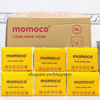 Khăn giấy gấu trắng MOMOCO dai mịn công nghệ xử lý xanh 7