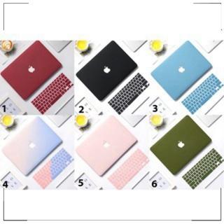 Combo 🎁 Case , Ốp + Phủ bàn phím cho Macbook đồng màu (Tặng Chống gãy đầu dây sạc )