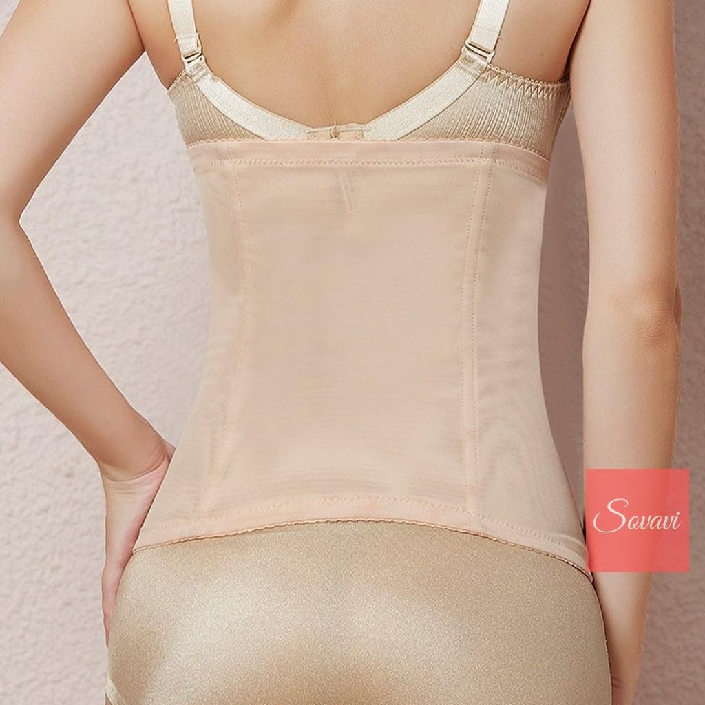 Gen bụng giảm mỡ thắt eo hiệu quả (3 nấc cài, 6 xương, 29cm) - Đồ lót định hình Dai009