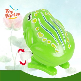 Classic children toy chain jumping frog toys baby infant toys