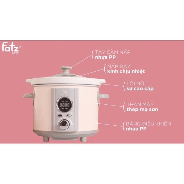 Nồi nấu chậm 1.5, 2, 2.5lít Fatz Baby FB9015MH FB9020MH FB9025MH