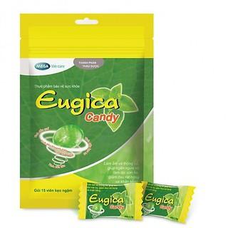 Kẹo Thảo Dược Eugica Giảm Ho Và Đau Rát Họng Hiệu Quả (Túi 15 viên) thumbnail