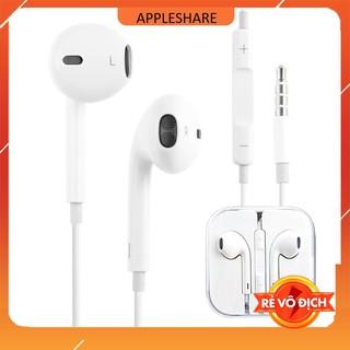 Tai nghe cho iPhone 5 5s 6 6s 6plus 6splus plus ip chân tròn, jack 3.5mm giá rẻ thumbnail