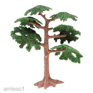 1/100 Pine Tree Model Train Railway Scenery Landscape Miniature Scene Layout